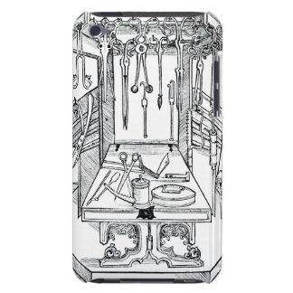 Operating table and surgical instruments, from 'Da Barely There iPod Cases