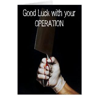 Operation card