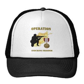 Operation Enduring Freedom Afghanistan War Hat