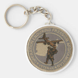 Operation Enduring Freedom Keychain