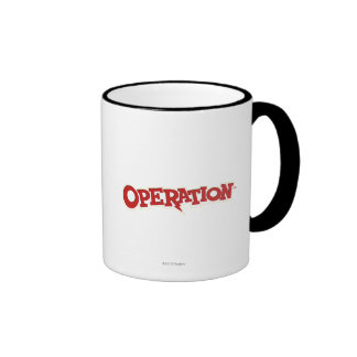 Operation Game Logo Ringer Mug