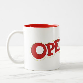 Operation Game Logo Two-Tone Coffee Mug