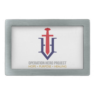 Operation Hero Project Belt Buckle