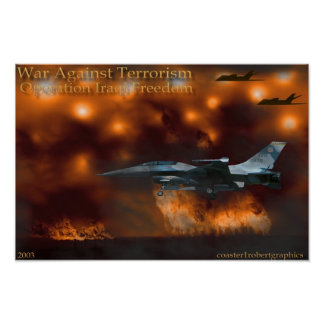 Operation iraqi freedom poster