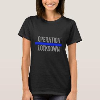 """OPERATION LOCKDOWN """"MAID OF HONOR"""" BLACK TSHIRT"""