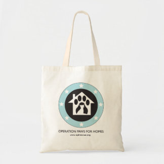 Operation Paws for Homes Dog Rescue Tote Bag