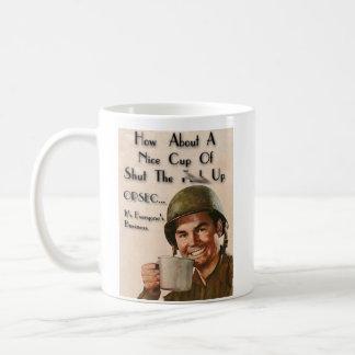 OPERATION PMF - stfu-cup Basic White Mug