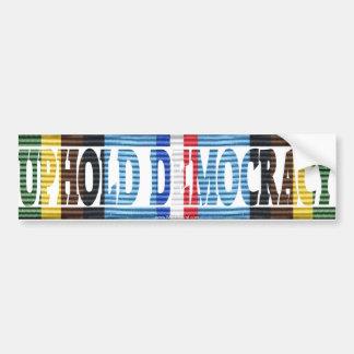 Operation Uphold Democracy Haiti Vet AFEM Sticker