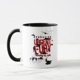 Operation Urgent Fury Action mug