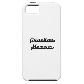 Operations Manager Classic Job Design iPhone 5 Case