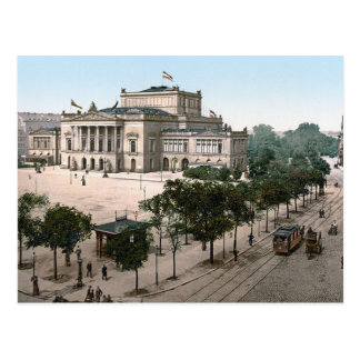 Opernhaus, Opera House, Leipzig, Germany Postcard