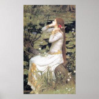 Ophelia - 1894 poster