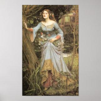 Ophelia 1910 - Poster / Print
