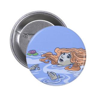Ophelia 6 Cm Round Badge