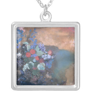 Ophelia among the Flowers, c.1905-8 Silver Plated Necklace