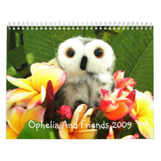 Ophelia And Friends 2009 Calendars