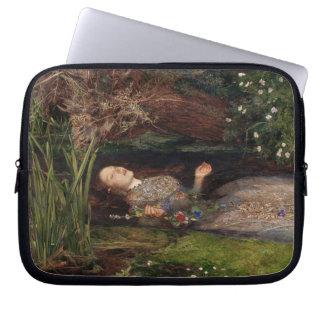 Ophelia by John Everett Millais Laptop Sleeve