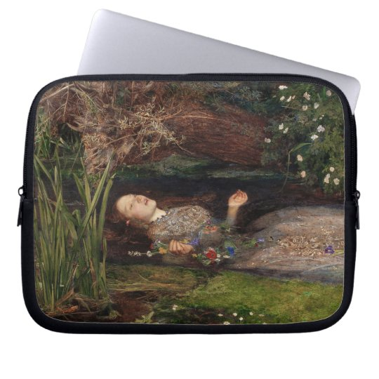 Ophelia by John Everett Millais Laptop Sleeve