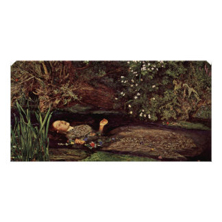 Ophelia By Millais, John Everett (Best Quality) Photo Card