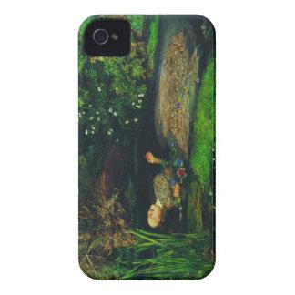Ophelia by sir John Everett Millais iPhone 4 Covers