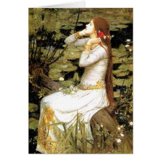 Ophelia Card