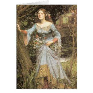 Ophelia Greeting Card