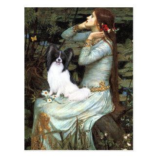 Ophelia - Papillon 1 Postcard