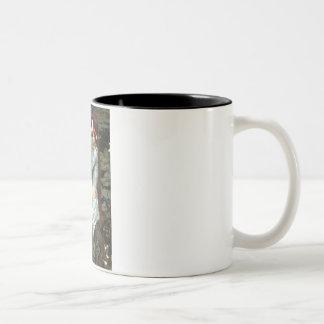 Ophelia Seated - Coton de Tulear 7 Two-Tone Coffee Mug