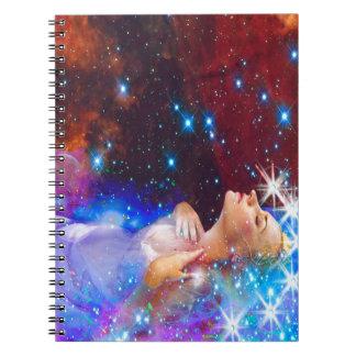 Ophelia Spiral Notebook