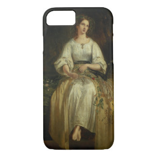 Ophelia weaving her garlands, 1842 (oil on panel) iPhone 7 case