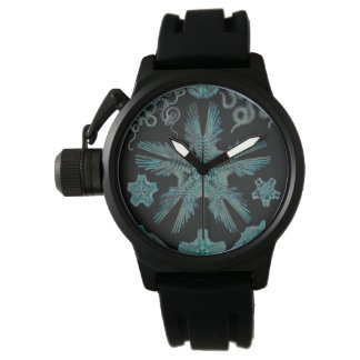 Ophiodea in Turquoise and Black Watch
