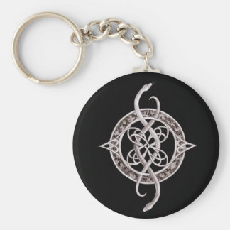 Ophiuchus Symbol Key Ring