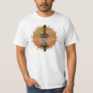 Ophthalmic Nurse Caduceus value t-shirt