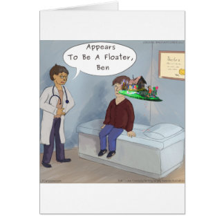 Ophthalmologist Finds A Parade Eye Floater Card