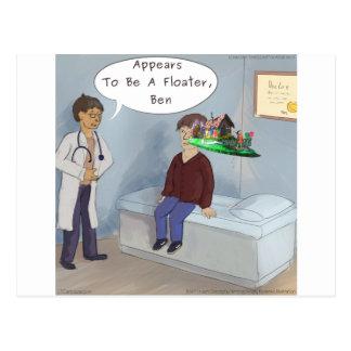 Ophthalmologist Finds A Parade Eye Floater Postcard