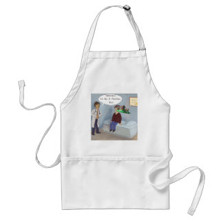 Ophthalmologist Finds A Parade Eye Floater Standard Apron