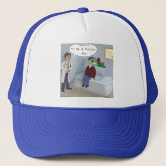 Ophthalmologist Finds A Parade Eye Floater Trucker Hat