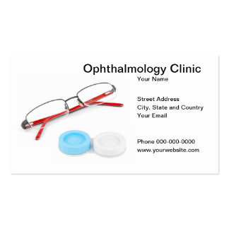 Ophthalmology Clinic Business Card Business Card Template