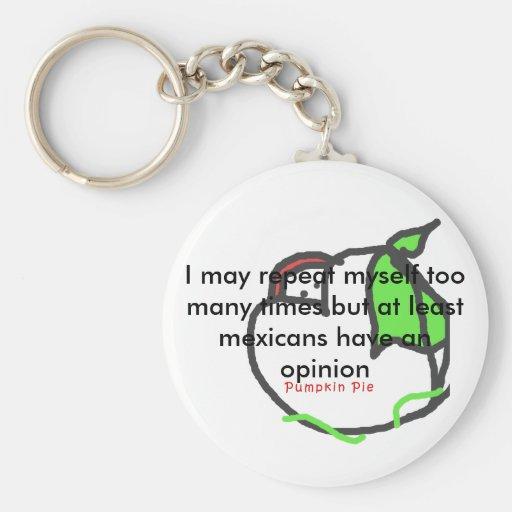 Opinion Keychain