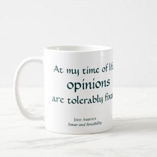 Opinions Coffee Mug