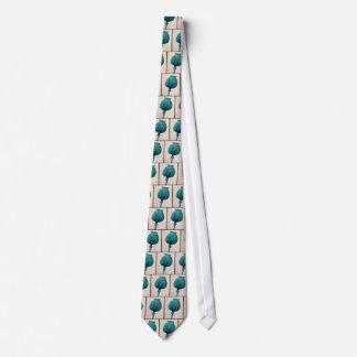 Opium Poppy Tie