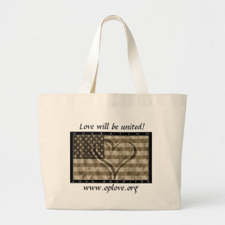 OpLove Totebag Large Tote Bag