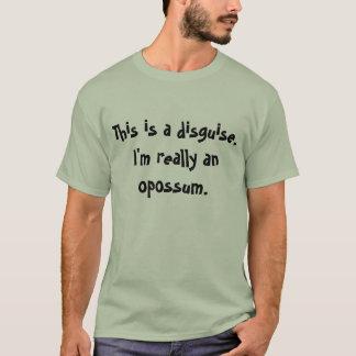 Opossum Costume T-Shirt