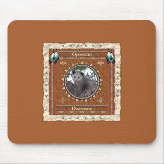 Opossum  -Diversion- Mousepad