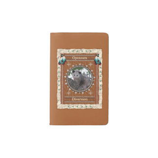 Opossum  -Diversion- Notebook Moleskin Cover