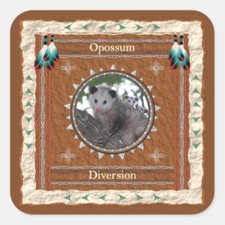 Opossum  -Diversion- Stickers - 20 per sheet