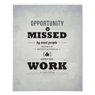 "Opportunity - 8""x10"" Art Print"