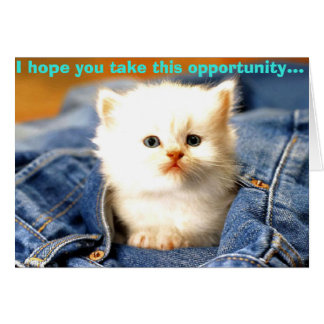 opportunity card