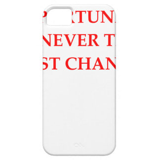 OPPORTUNITY iPhone 5 CASES