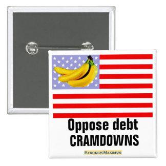 Oppose debt cramdowns pin
